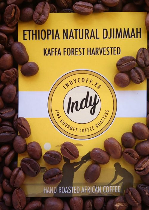 Ethiopia Natural Djimmah with Beans